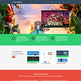 News- Corporate site template
